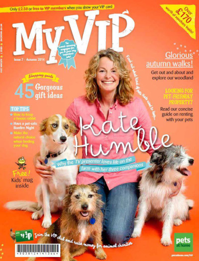 Kate Humble VIP magazine cover
