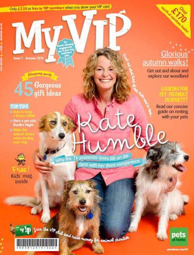 Kate Humble VIP magazine cover